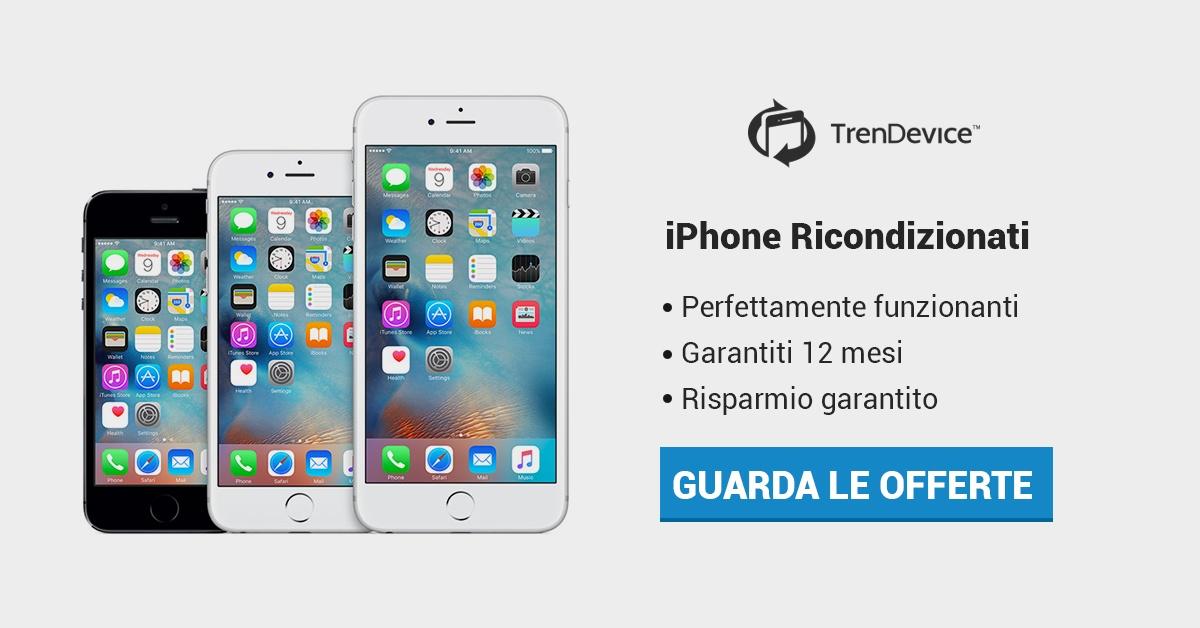 cellulari ricondizionati iphone