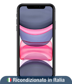 iPhone 11 64 GB Nero (Ricondizionato grado A)