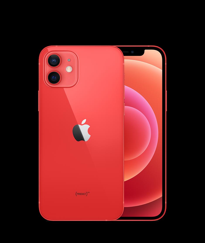 Apple iPhone 12 64 GB Rosso (Ricondizionato grado A)