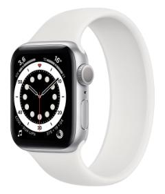 Apple Watch serie 6 40 mm Argento GPS+Cell (Ricondizionato grado B)