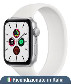 Apple Watch SE 44 mm Argento GPS (Ricondizionato grado B)