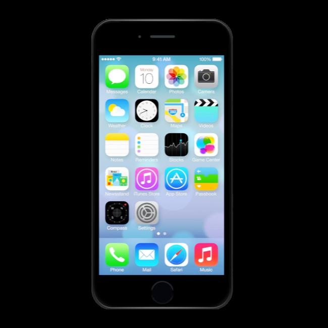 iPhone 7 128 GB Jet black (Ricondizionato grado B)