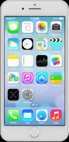 iPhone 7 Plus 128 GB Argento (Ricondizionato grado A)