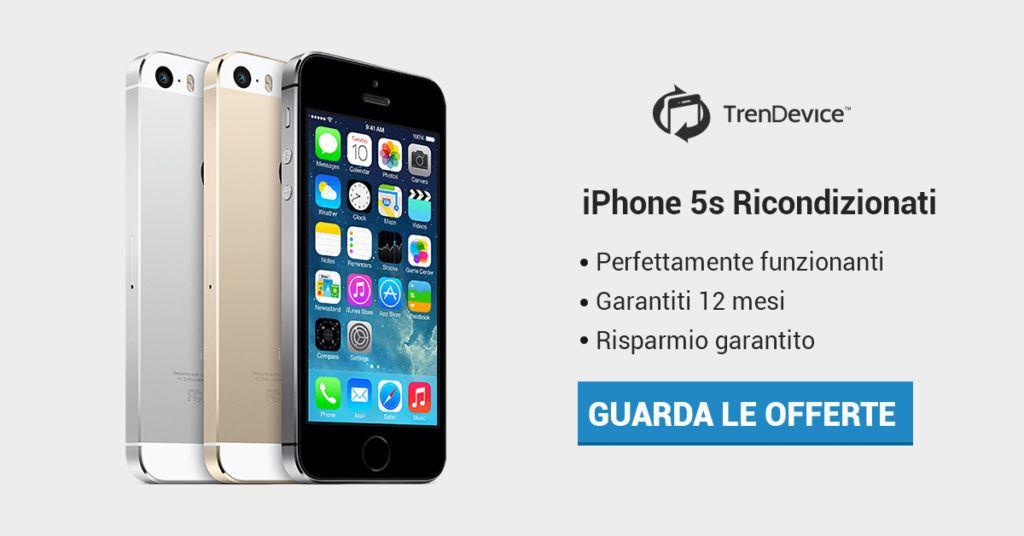 iPhone 5s Ricondizionato TrenDevice