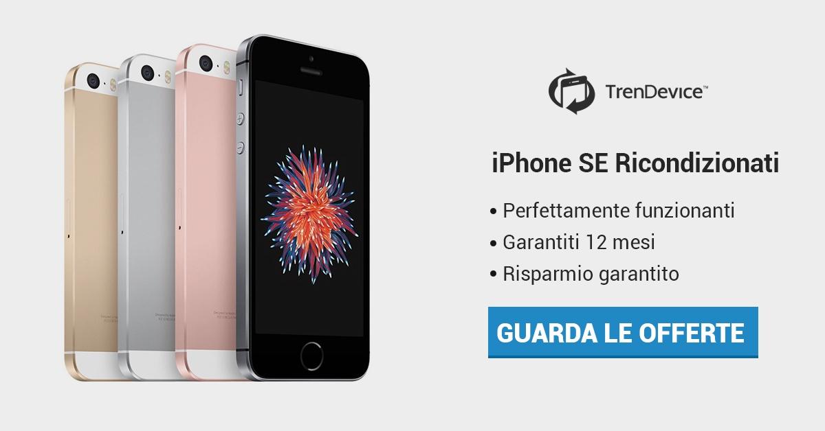 iPhone SE Ricondizionato TrenDevice