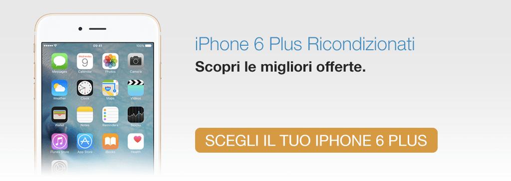 iPhone 6 Plus Ricondizionato TrenDevice