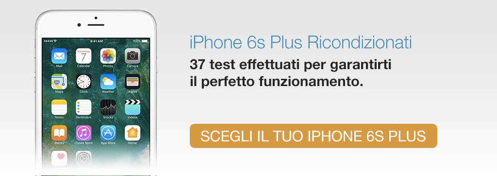 iPhone 6 Plus Rigenerato TrenDevice