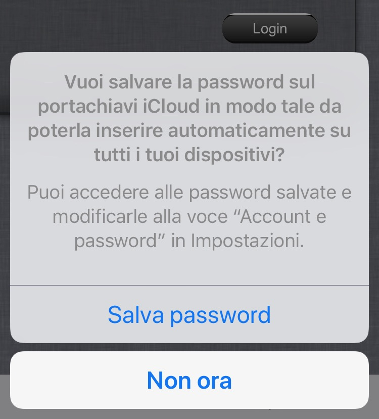 come trovare password iphone 6s Plus