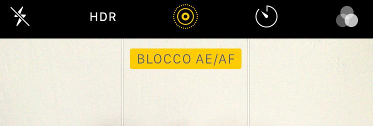 blocco AE/AF