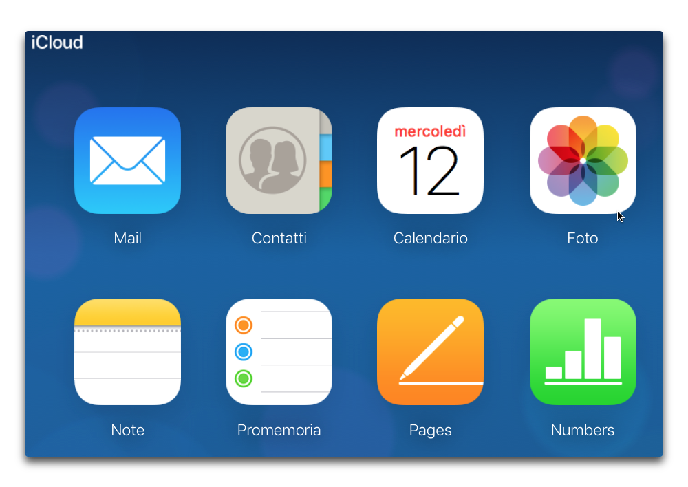 icloud sito