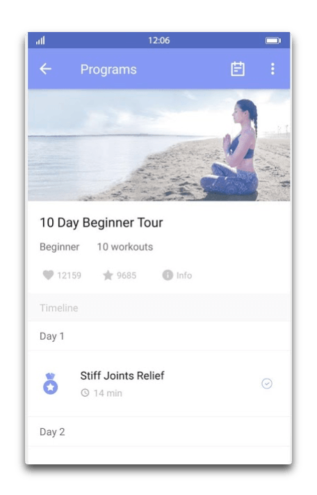 app android daily yoga