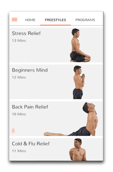 app android yoga