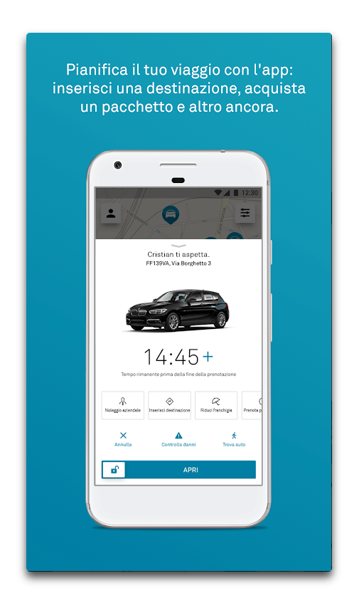 app drivenow android
