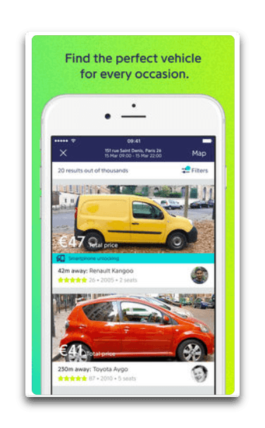 app drivy per iphone