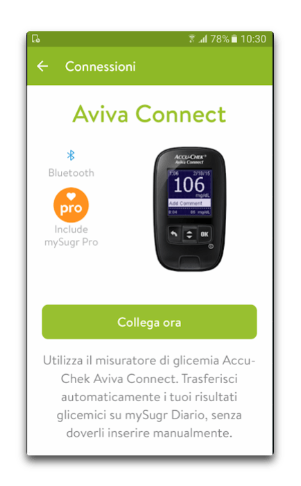 app android diario per il diabete