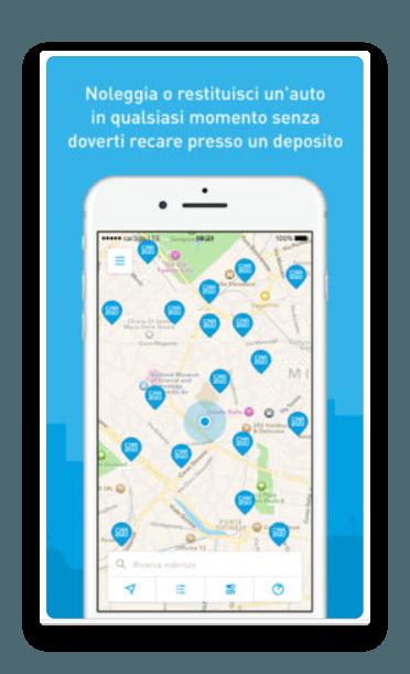 app car2go per iphone