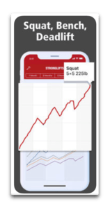app ios StrongLifts 5x5 Workout Log