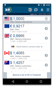 xecurrency app android