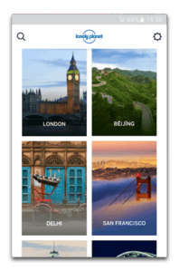 app android lonely planet