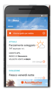 app android accuweather