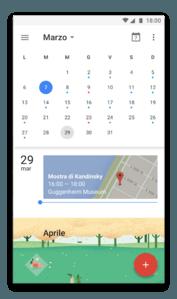 app android google calendar