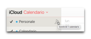 icloud calendario
