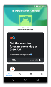 app android ifttt