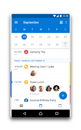 app android outlook
