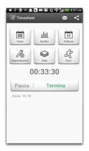 app android ore lavorate