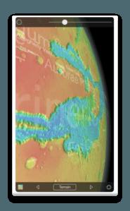 app ios mars globe