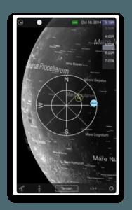 app ios moon globe