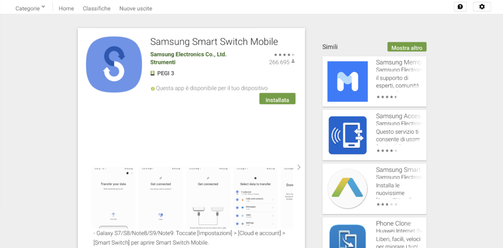 play store app smart switch