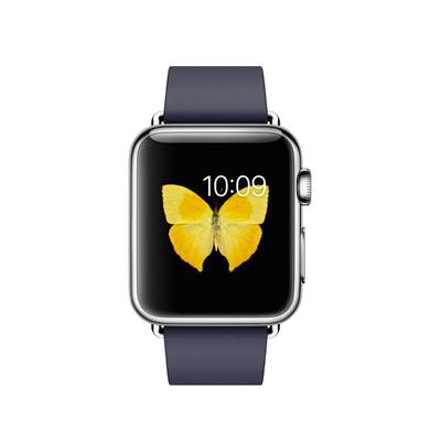 Apple Watch cinturino Modern Blu Notte
